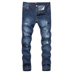 กางเกงผู้ชาย ผู้หญิง ราคาถูก กางเกงยีนส์  มี สีดำ สีฟ้า มี ไซร์ M L XL XXL
