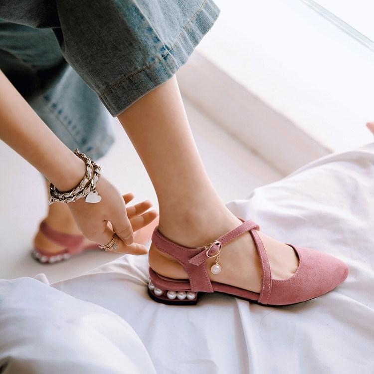 pre - รองเท้าส้นเตี้ย