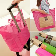 กระเป๋าผู้หญิง ราคาถูก กระเป๋าสะพายข้าง กระเป๋าถือ กระเป๋าเดินทางพับได้ มี สีเทา สีส้ม สีน้ำเงิน สีม่วง สีชมพู สีไวน์แดง