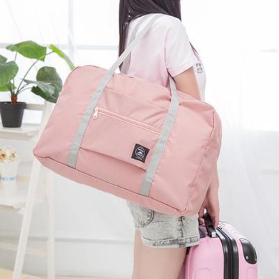 กระเป๋าผู้หญิง ราคาถูก กระเป๋าสะพายข้าง กระเป๋าถือ กระเป๋าเดินทางพับได้ มี สีน้ำเงิน สีไวน์แดง สีเขียวมินท์ สีชมพู