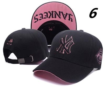 หมวกผู้ชาย ผู้หญิง ราคาถูก หมวกเบสบอล NY หมวกฮิปฮอป  (ปรับได้) มี สีตามรูป