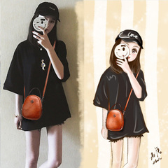 กระเป๋าผู้หญิง ราคาถูก กระเป๋าสะพายข้าง กระเป๋าถือ มี สีดำ สีน้ำตาล