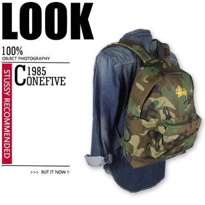 กระเป๋าผู้ชาย ผู้หญิง ราคาถูก กระเป๋าสะพายหลัง กระเป๋าเป้ กระเป๋าถือ Stussy มี สีดำ สีกองทัพเขียว