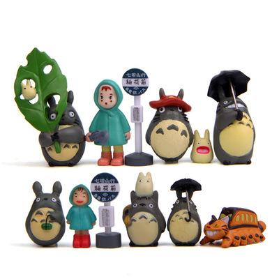 พร้อมส่ง>> DIYตุ๊กตาโทโทโร่เพื่อนรักตกแต่งสวนจิ๋ว ตุ๊กตาจิ๋ว (เซ็ต 12 ชิ้น)