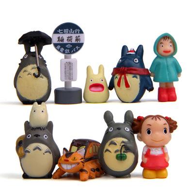 พร้อมส่ง>> DIYตุ๊กตาโทโทโร่เพื่อนรักตกแต่งสวนจิ๋ว ตุ๊กตาจิ๋ว (เซ็ต 9 ชิ้น)