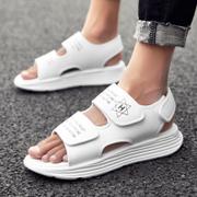 รองเท้าผู้ชาย ผู้หญิง ราคาถูก รองเท้าแตะโรมัน รองเท้าแฟชั่น รองเท้าแตะ เกาหลี มี สีดำ สีขาว สีดำขาว มี ไซร์ 39-44