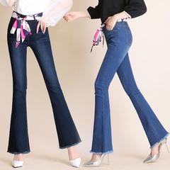 กางเกงผู้หญิง ผู้ชาย ราคาถูก กางเกงยีนส์ กางเกงขากว้าง มี สีฟ้า สีน้ำเงิน มี ไซร์ 26-32