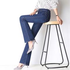 กางเกงผู้หญิง ผู้ชาย ราคาถูก กางเกงยีนส์ กางเกงขากว้าง มี สีฟ้า สีน้ำเงิน มี ไซร์ 26-34