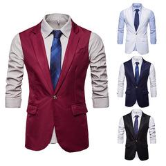 เสื้อผ้าผู้ชาย ผู้หญิง ราคาถูก เสื้อกั๊ก มี สีขาว สีดำ สีไวน์แดง สีน้ำเงิน มีั ไซร์ S M L XL 2XL