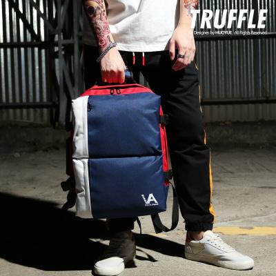 กระเป๋าผู้ชาย ผู้หญิง ราคาถูก กระเป๋าสะพายหลัง กระเป๋าเป้ กระเป๋าถือ มี สีน้ำเงินแดง สีดำแดง สีดำ
