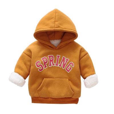 (พร้อมส่งสีน้ำตาล) เสื้อแขนยาวเด็ก เสื้อกันหนาวมีฮู้ดเด็ก เสื้อสเวตเตอร์เด็ก
