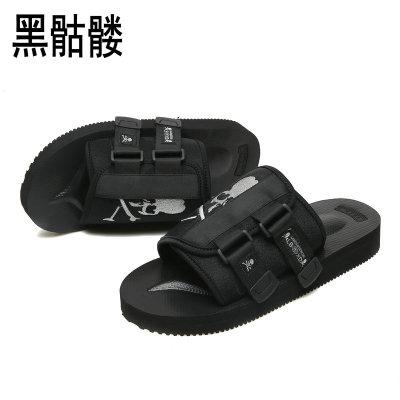 (พร้อมส่ง) รองเท้าผู้ชาย ราคาถูก รองเท้าแฟชั่น รองเท้าแตะเกาหลี มี สีตามรูป มี ไซร์ 42
