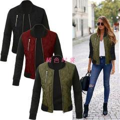 เสื้อผ้าผู้หญิง ราคาถูก เสื้อกันหนาว เสื้อแจ็คเก็ต มี สีเขียว สีไวน์แดง สีดำ สีน้ำเงิน มี ไซร์ S M L XL 2XL 3XL