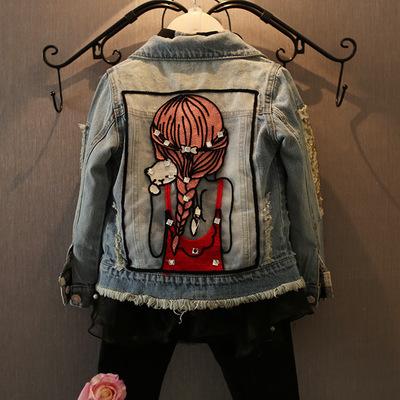 (พร้อมส่ง Size 4-7) เสื้อยีนส์แขนยาวเด็ก เสื้อกันหนาวยีนส์เด็ก เสื้อยีนส์แฟั่น เสื้อยีนส์เด็กแขนยาว