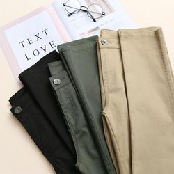 กางเกงผู้หญิง ราคาถูก กางเกงแฟชั่น กางเกงลำลอง Overralls มี สีกากี สีดำ สีเขียว มี ไซร์  S M L XL 2XL 3XL