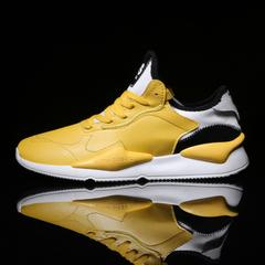 รองเท้าผู้ชาย ราคาถูก รองเท้าผ้าใบ รองเท้าแฟชั่น มี สีขาว สีดำ สีเหลือง สีแดง มี ไซร์ 39-44
