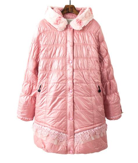 พร้อมส่ง เสื้อกันหนาว แจ็คเกตตัวยาว ผ้าหนาผ้าร่มเนื้อดี ด้านในบุแต่งมิ้งที่คอปก สวยสุดหวาน ใส่กันหนาวได้ สี ชมพุหวาน และดำ