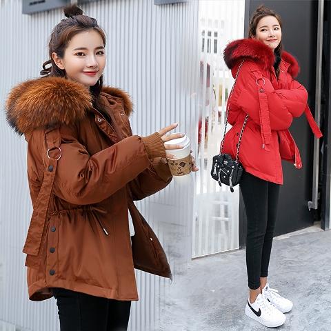 เสื้อโค๊ทกันหนาว เสื้อโค๊ทผู้หญิง เสื้อแขนยาว เสื้อกันหนาวมีฮู้ด โค๊ทแฟชั่นราคาถูก