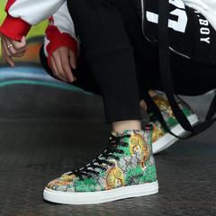 รองเท้าผู้ชาย ราคาถูก รองเท้าแฟชั่น รองเท้าผ้าใบ เกาหลี มี สีเขียวสูง สีเขียวต่ำ มี ไซร์ 38-43