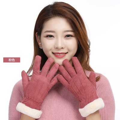 ถุงมือกันหนาว ถุงมือผู้หญิง ถุงมือแฟชั่นใส่กันหนาว ถุงมือบุขนกันหนาว