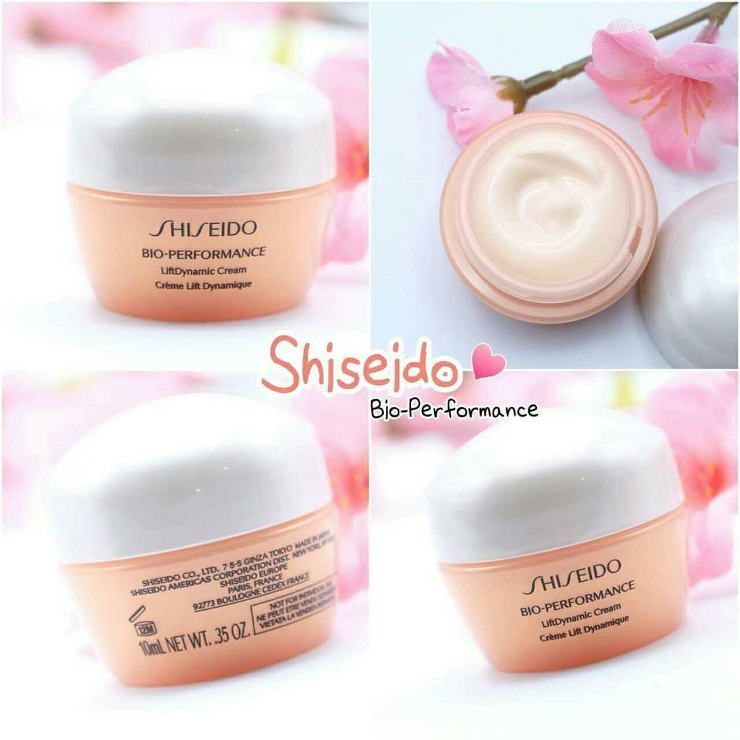 **พร้อมส่ง**Shiseido Bio-Performance Lift Dynamic Cream ขนาดทดลอง 10 ml. ครีมลดเลือนริ้วรอยแห่งวัย คืนความยืดหยุ่น ผิวกระชับ เรียบเนียน ร่องผิวตื้นขึ้น ผิวชุ่มชื้น แข็งแรงขึ้น เนื้อครีมเข้มข้น ซึมซาบไว้ไม่เหนียวเหนอะหนะ สัมผัสถึงความชุ่มชื่น หยืดหยุ่นได้ท