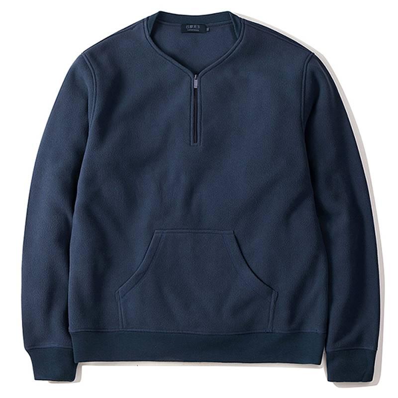 ขนาด:2XL 3XL 4XL 5XL 6XL 7XL 8XL สี:ดำ/กรม เสื้อคนอ้วน เสื้อผ้าผู้ชาย ขนาดใหญ่ เสื้อกันหนาว