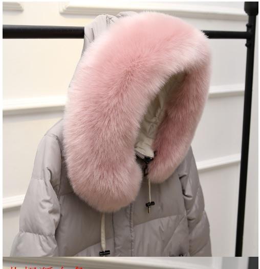 ขนเฟอร์ติดฮุ้ด ขนเฟอร์ฟรุ้งฟริ้ง ขนเฟอร์กันหนาว ผ้าพันคอขนเฟอร์