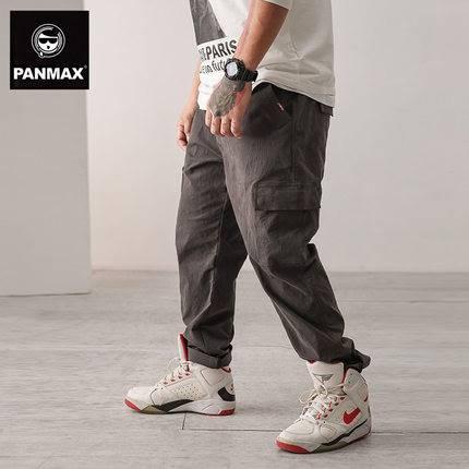 ขนาด:2XL 3XL 4XL 5XL 6XL สี:เทา กางเกงคนอ้วน กางเกงผู้ชาย ขนาดใหญ่ กางเกงขายาว