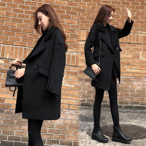 เสื้อโค๊ทผู้หญิง เสื้อโค๊ทกันหนาว เสื้อคลุมกันหนาว เสื้อโค๊ทตัวยาว เสื้อสูทตัวยาว