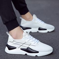 รองเท้าผู้ชาย ผู้หญิง ราคาถูก รองเท้าแฟชั่น รองเท้าผ้าใบ เท่ๆ มี สีขาว สีดำ สีแดง มี เบอร์ 39-44