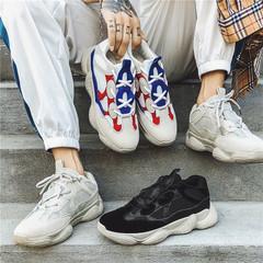 รองเท้าผู้ชาย ผู้หญิง ราคาถูก รองเท้าแฟชั่น รองเท้าผ้าใบ เท่ๆ มี สีขาว สีเทา สีดำ มี เบอร์ 39-44