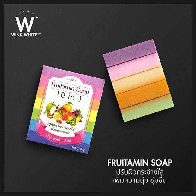 Wink White Fruitamin Soap