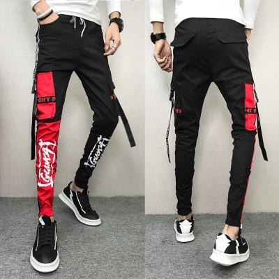 กางเกงผู้ชาย ราคาถูก กางเกงขายาว กางเกงลำลอง กางเกงฮาเร็มรุ่นเกาหลี Slim มี สีตามรูป มี ไซร์ 27-34
