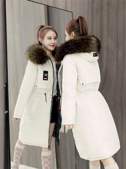 เสื้อโค๊ทตัวยาว เสื้อโค๊ทกันหนาวผู้หญิง เสื้อโค๊ทมีฮู้ด เสื้อโค๊ทใส่อากาศติดลบ
