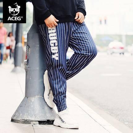 ขนาด:2XL 3XL 4XL 5XL 6XL สี:ตามภาพ กางเกงคนอ้วน กางเกงผู้ชาย ขนาดใหญ่ กางเกงยีนส์ ขายาว
