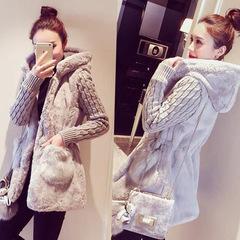 เสื้อผ้าผู้หญิง ราคาถูก เสื้อกันหนาว เสื้อคลุม มี สีเทา สีขาว สีน้ำตาลอ่อน มี ไซร์ S M L XL 2XL