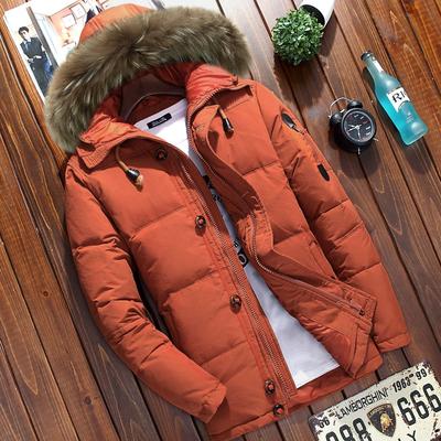 เสื้อโค๊ทกันหนาวผู้ชาย เสื้อขนเป็ด โค๊ทขนเป็ด เสื้อแจ็คเกตชาย เสื้อโค๊ทมีฮู้ดผู้ชาย