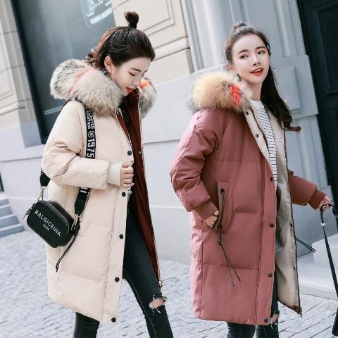 เสื้อโค๊ทขนเป็ด เสื้อโค๊ทกันหนาวผู้หญิง เสื้อโค๊ทมีฮู้ด เสื้อขนเป็ด เสื้อโค๊ทตัวยาว