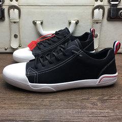 รองเท้าผู้ชาย ราคาถูก รองเท้าแฟชั่น รองเท้าผ้าใบ เกาหลี มี สีดำ สีเทา มี ไซร์ 39-43