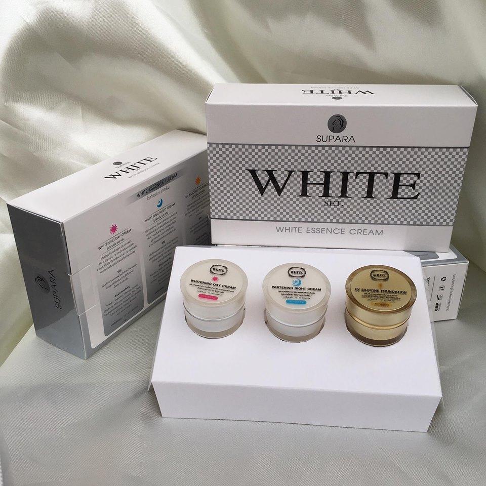 White Essence Cream by Supara ไวท์เอสเซนส์ครีม