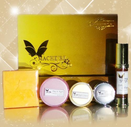 MACHE'RE By Jumi Whitening Cream Set (Gold Box Set) ครีมมาเชอร์รี่