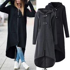 เสื้อผ้าผู้หญิง ราคาถูก เสื้อกันหนาว เสื้อคลุม มี สีหมอก สีดำ มี ไซร์ S M L XL 2XL 3XL 4XL 5XL