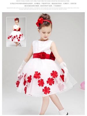 (พร้อมส่ง 110-150) ชุดเดรสเด็ก ชุดราตรีเด็ก ชุดเดรสออกงาน ชุดใส่งานแต่งงานเด็ก ชุดแฟนซีเด็ก