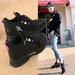 รองเท้าผู้หญิง ราคาถูก รองเท้าผ้าใบ รองเท้าแฟชั่น มี สีดำม่วง สีดำหลายสี มี ไซร์ 35-40