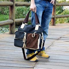 กระเป๋าผู้ชาย ราคาถูก กระเป๋าสะพายข้าง กระเป๋าถือ มี สีดำ สีน้ำตาล