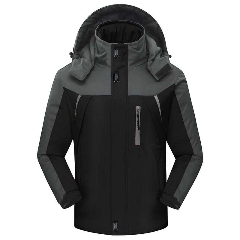 (พร้อมส่งสีดำ XL) เสื้อโค๊ทกันหนาว เสื้อโค๊ทกันหิมะ ลุยหิมะ เสื้อใส่อุณภูมิติดลบ