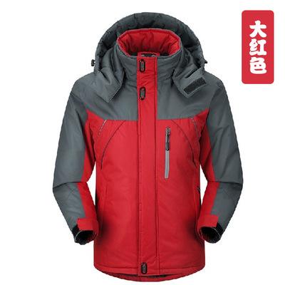 (พร้อมส่งสีแดง L) เสื้อโค๊ทกันหนาว เสื้อโค๊ทกันหิมะ ลุยหิมะ เสื้อใส่อุณภูมิติดลบ