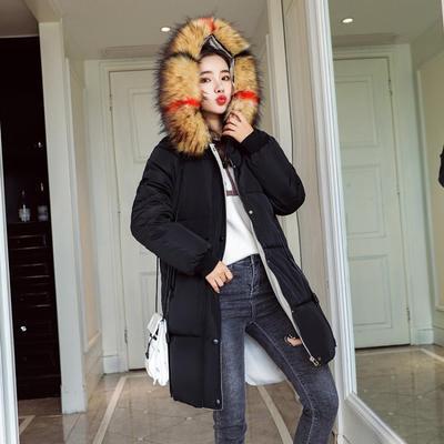 (พร้อมส่งสีดำ) เสื้อโค๊ทกันหนาวผู้หญิง เสื้อโค๊ทตัวยาว เสื้อโค๊ทมีฮู้ด เสื้อแขนยาวมีฮู้ด