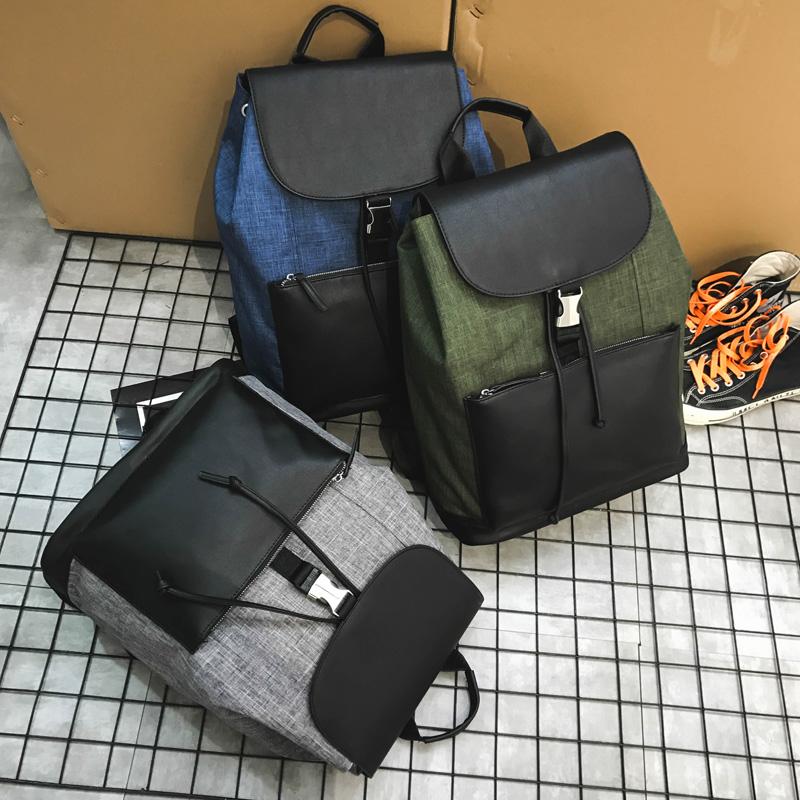 กระเป๋าผู้ชาย ราคาถูก กระเป๋าเป้ กระเป๋าสะพายหลัง กระเป๋าถือ เท่ๆ มี สีเทา สีเขียว สีน้ำเงิน