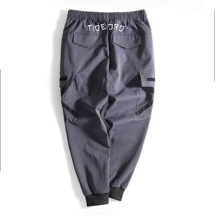 ขนาด:36 38 40 42 46 สี:เทา กางเกงคนอ้วน กางเกงผู้ชาย ขนาดใหญ่ กางเกงขายาว